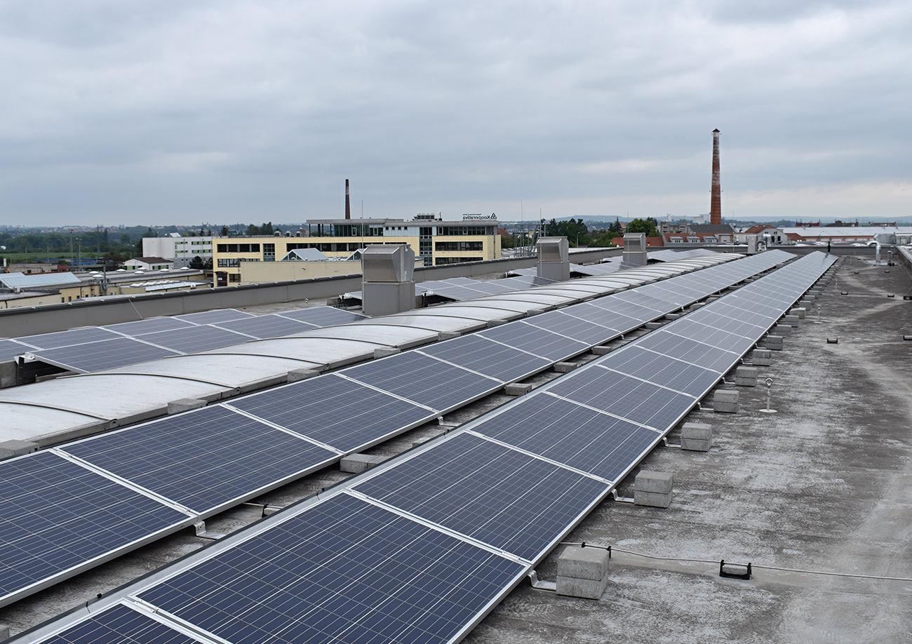 Fotovoltaická elektrárna Modřice