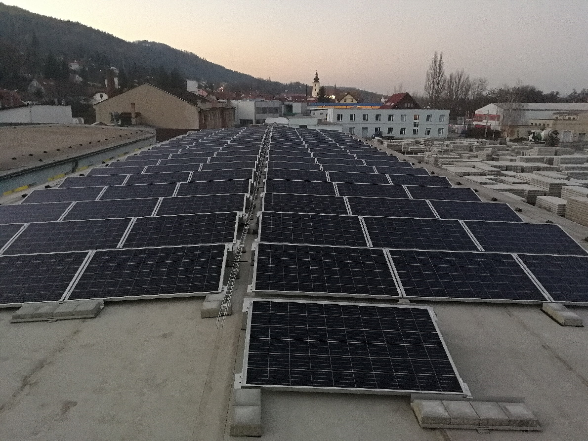 Fotovoltaická elektrárna Blansko